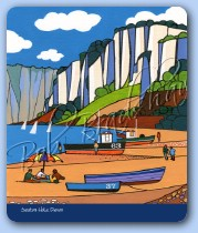 Seaton Beach Mouse Mat