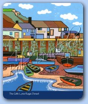The Cobb, Lyme Regis Mouse Mat
