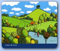 Colmers Hill Mouse Mat